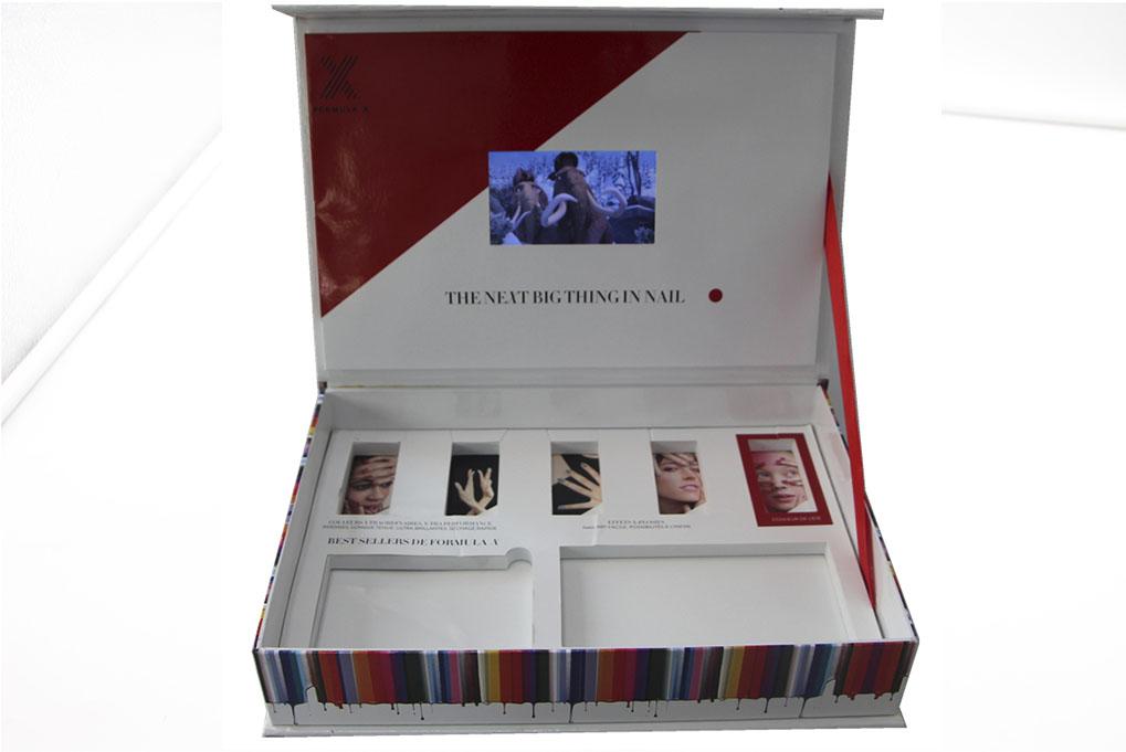 video box lcd