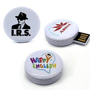 USB forma de chapa